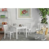 Whitewood Mission kids Table in White