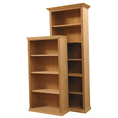 Inwood Bookcase With Traditional Fluted Rope Full Wrap