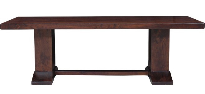 Home Trends and Design Brutus Table - Furniture in the Raw