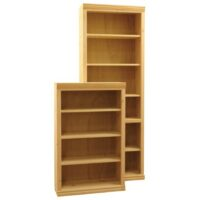 Inwood Bookcase with Traditional front trim only