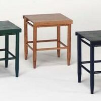 The Troutman Slat Top Table