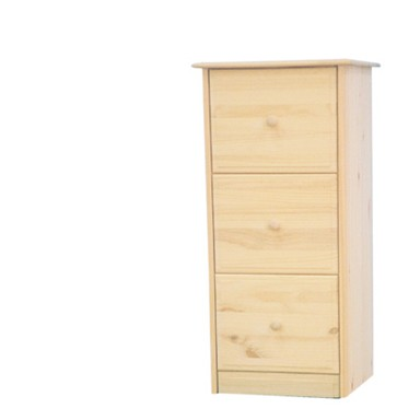 furniture in the raw file cabinet - 3 drawer in 3 woods 3 drawer file cabinet
