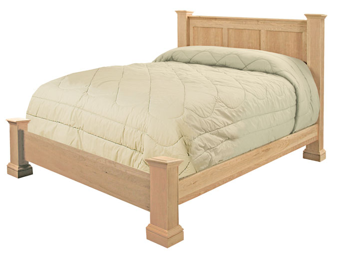 Low Footboard Option Bed Wc 1g0628 Furniture In The Raw