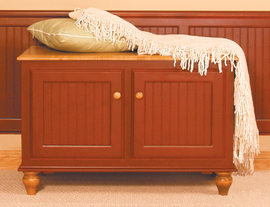 Cottage Blanket Chest Furniture In The Raw