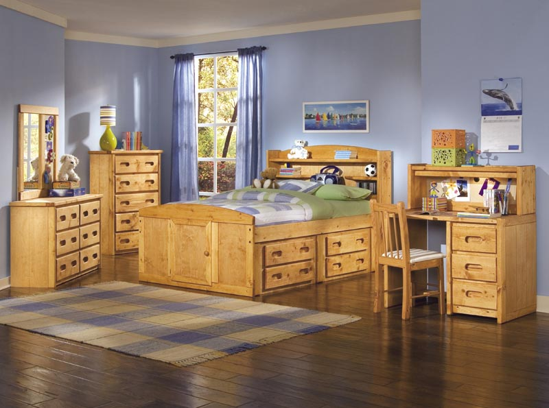 Trendwood Bunkhouse Palomino Bookcase Bed Collection