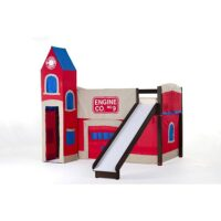New Energy Firehouse Junior Loft with Slide