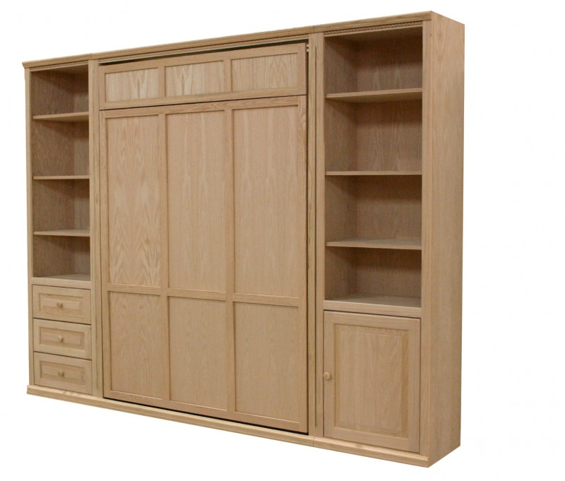 Inwood Murphy Bed Closed Made In Texas Furniture In