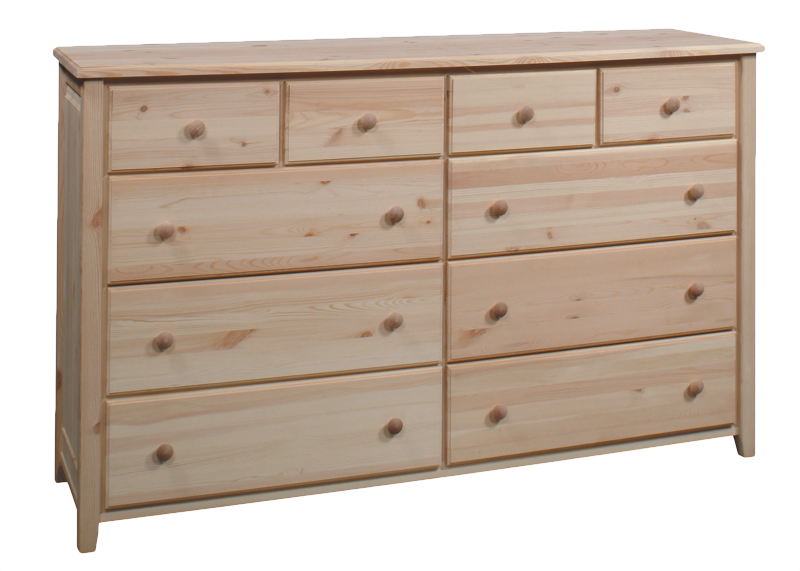 Archbold bay harbor dresser with drawers in solid pine