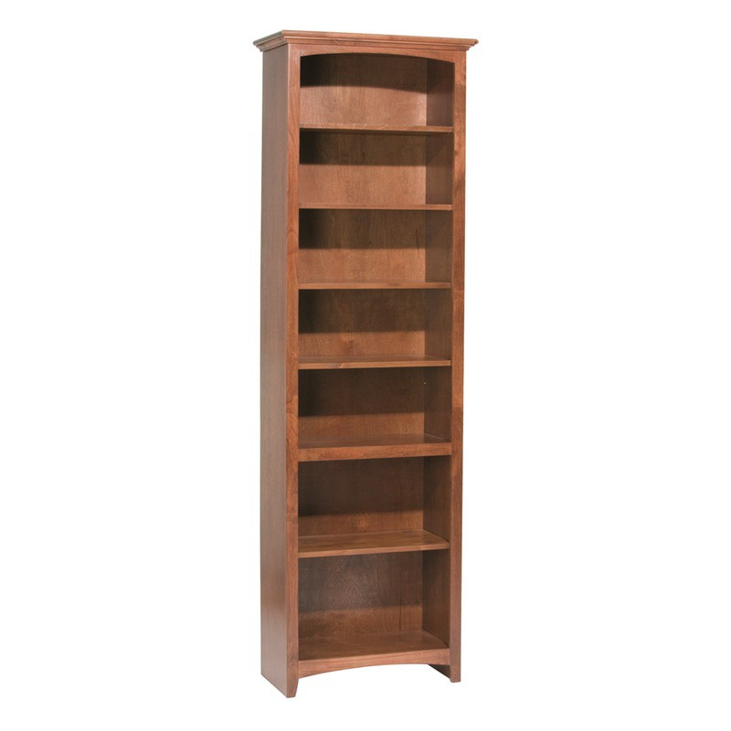 Whittier Wood Mckenzie Bookcase Collection 24 Quot Wide 84 Quot High Glazed Antique Cherry