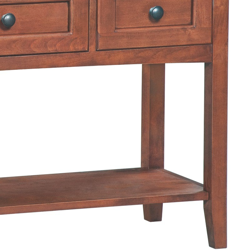 Whittier Wood Mckenzie Sofa Entry Table