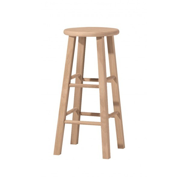 Round Top Bar Stool And Counter Stool