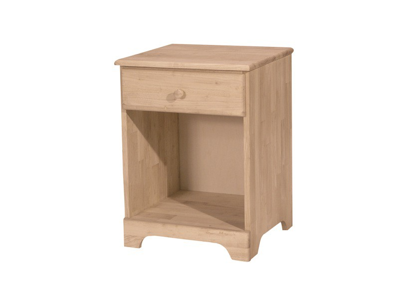 Whitewood Jamestown Nightstand 1 Drawer