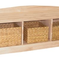 Whitewood Entry Bench