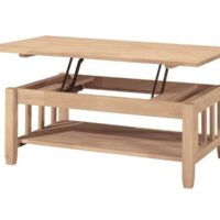 Whitewood Mission Lift Top Coffee Table