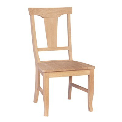 whitewood arlington panelback chair