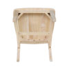 C-61 Cafe Bistro Schoolhouse Whitewood Chair