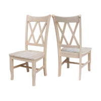 CI-20 Chair Double XX Whitewood