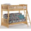 Cinnamon Futon Bunk Bed Natural