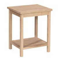 Whitewood Portman End Table