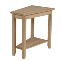 Whitewood Keystone Accent Table