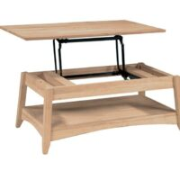Whitewood Bombay Lift-Top Coffee Table