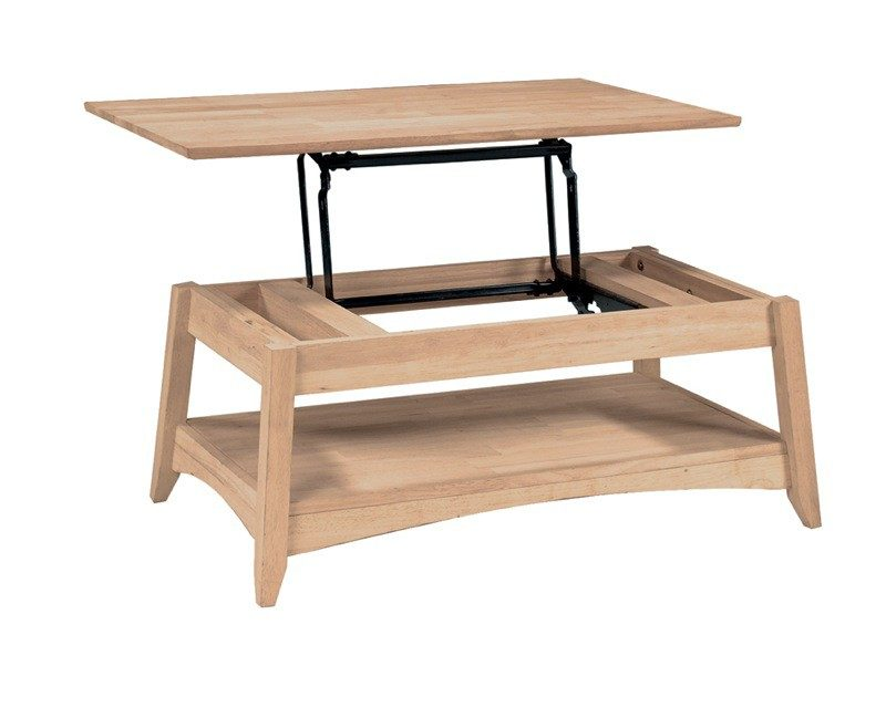 Whitewood Bombay Lift Top Coffee Table