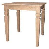 Whitewood Java End Table