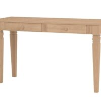 Whitewood Java Sofa Table with two drawers