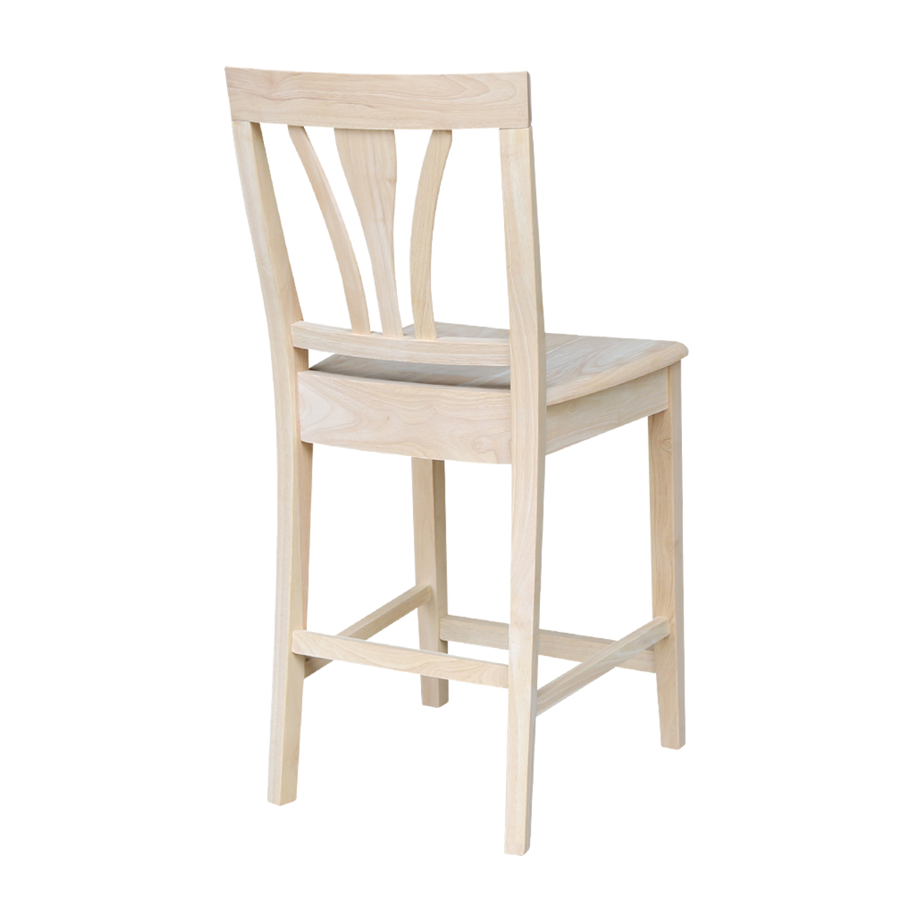 Fan Back Bar Stool And Counter Stool