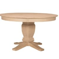 Whitewood Gathering Table and Base