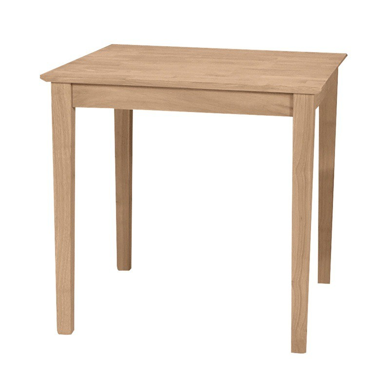 Small square shaker dining table Small dining table