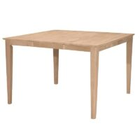 Large Shaker Butterfly Leaf Extension Dining Table