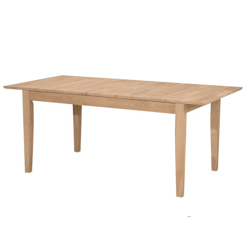 Butterfly Leaf Extension Shaker Dining Table