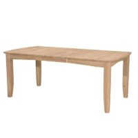 Bow End Shaker Dining Table