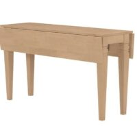 Whitewood Java Drop Leaf Table