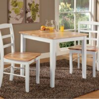 Whitewood Square Dining Table