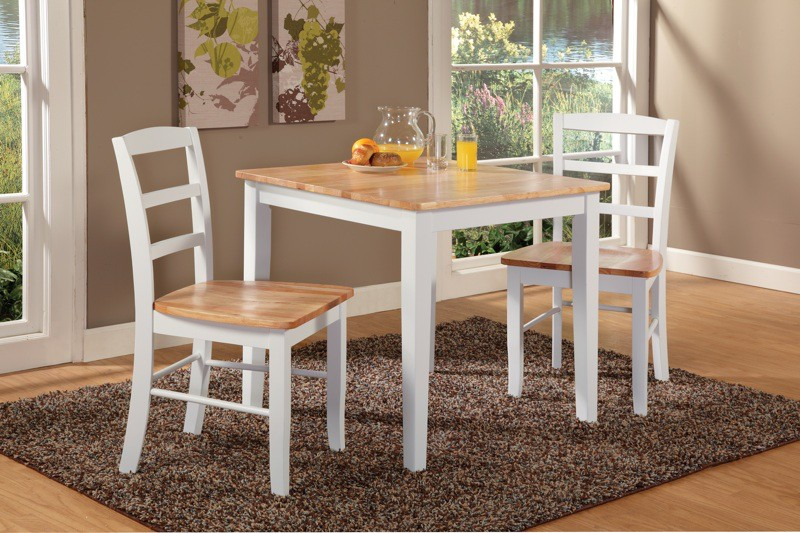 Small square shaker dining table for Small square dining room table
