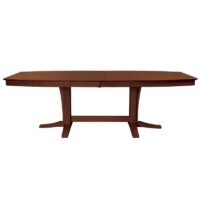 t581-4096 espresso 2 Milano Double Pedestal Dining Table