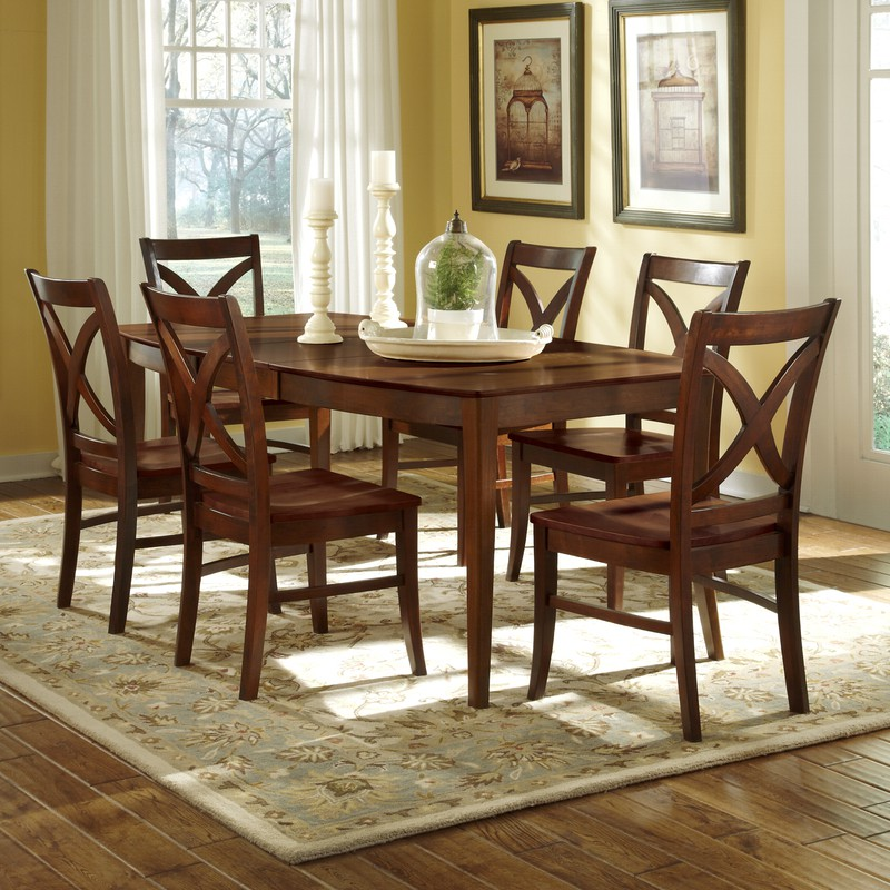 & John Thomas Cosmopolitan Salerno Vineyard Extension Dining Table