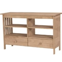 Whitewood Mission Entertainment Stand 48""