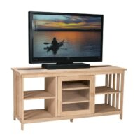 Whitewood Mission Entertainment Stand 56″
