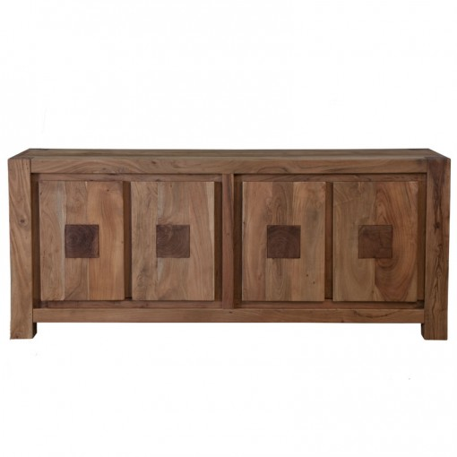 Home trends design tao sideboard 79 in light for Furniture in the raw