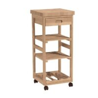 Whitewood Trolley Cart