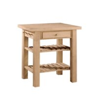 Whitewood Kitchen Island