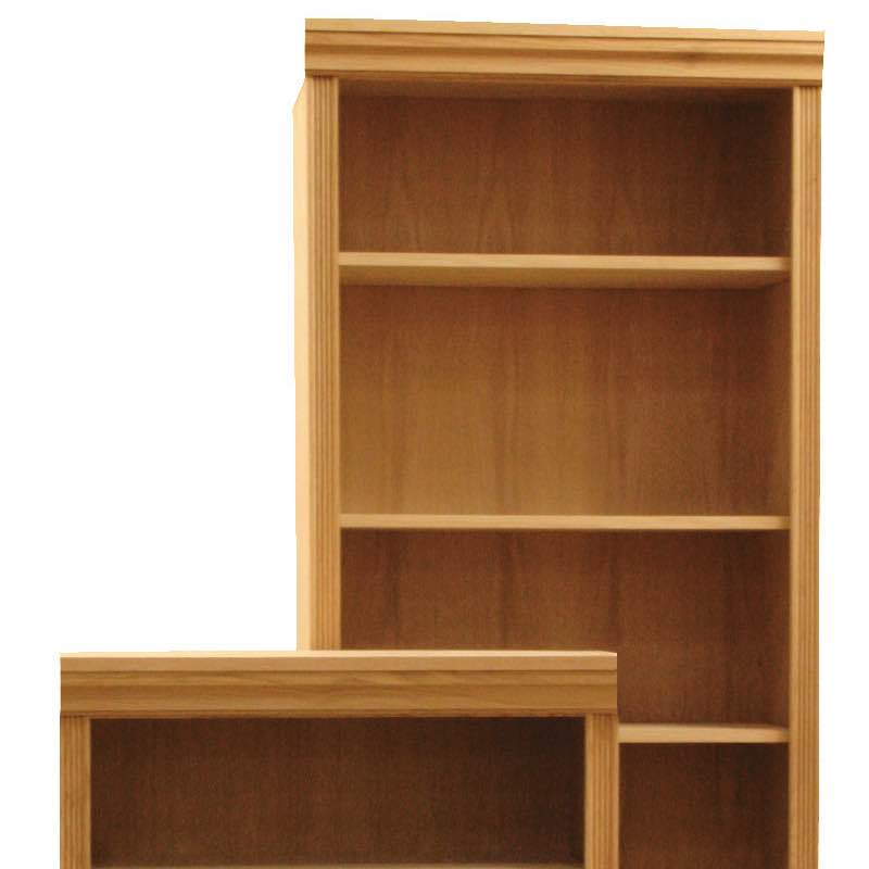 48 Quot Wide Front Trim Molding Wood Bookcases