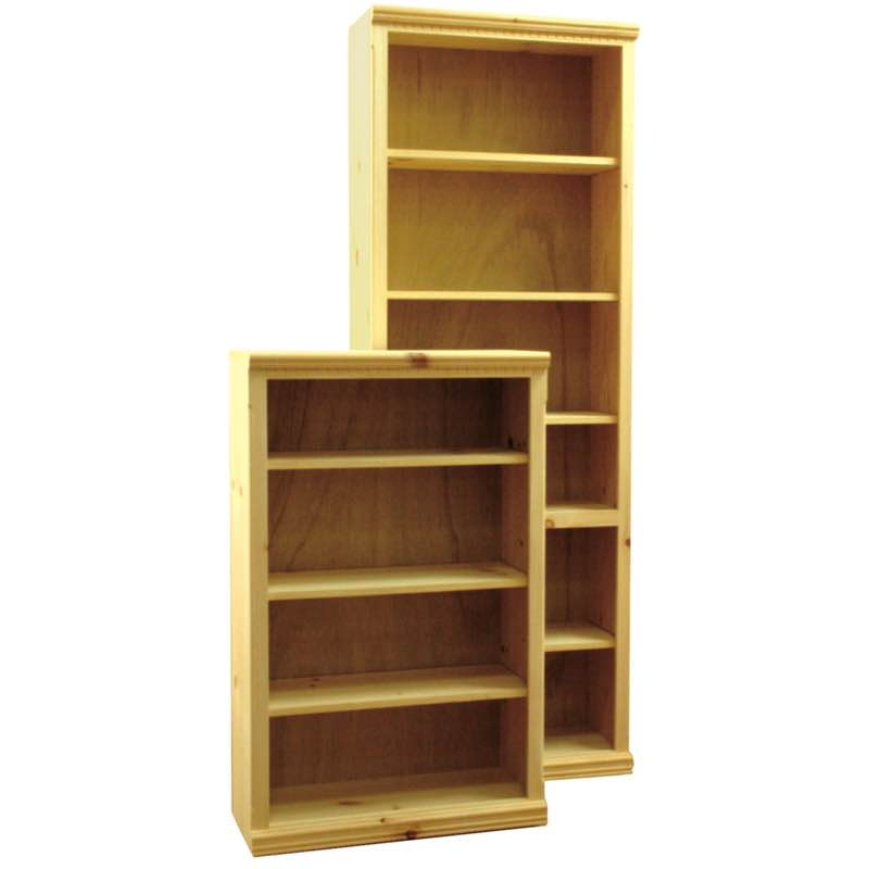 Front Trim Molding Wood Bookcases