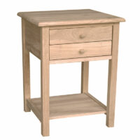 ot-92 2 drawer end table