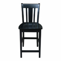 Black Paint San Remo Stool s46-102