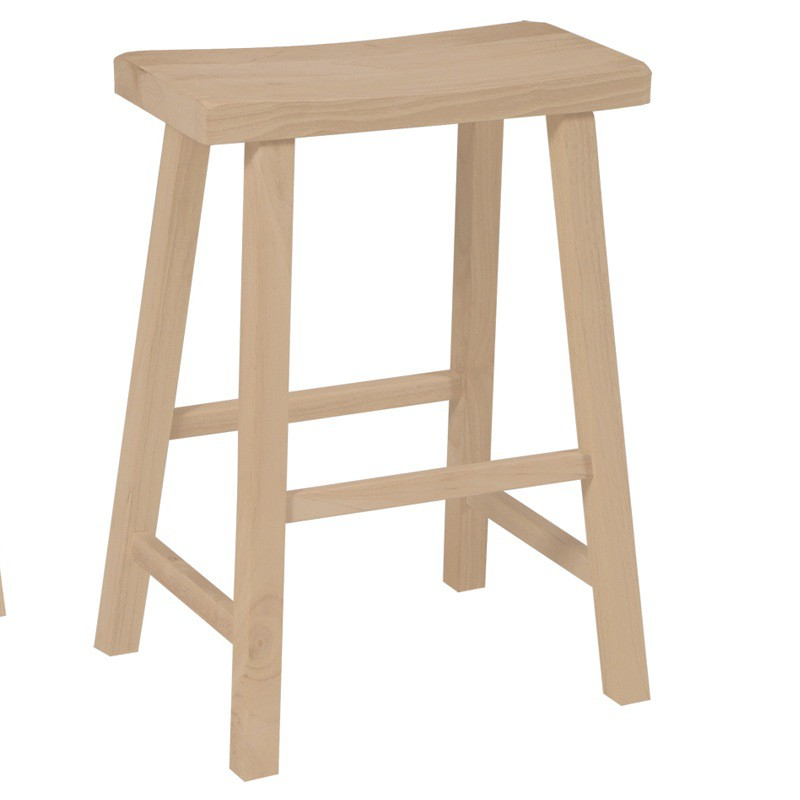 Saddle Seat Bar Stool And Counter Stool