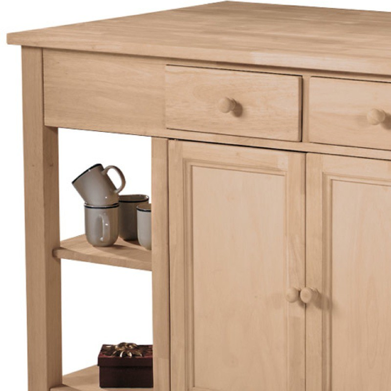 Super Kitchen Island With Breakfast Bar Is A Solid Wood